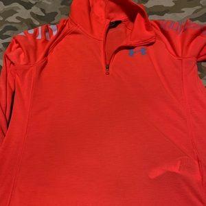 Under armor heat gear youth xl peach sweatshirt